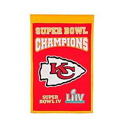 NFL Kansas City Chiefs Super Bowl LIV Champions Commemorative Banner
