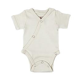 L'ovedbaby® Kimono Organic Cotton Short Sleeve Bodysuit