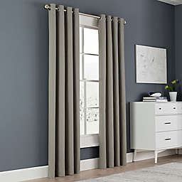 Grey 84 Quot Curtain Panels Bed Bath Amp Beyond