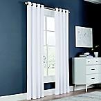 Newport 84-Inch Grommet Window Curtain Panel in White