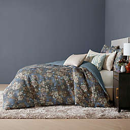 O&O by Olivia & Oliver™ Ambrogio 3-Piece King Duvet Cover Set in Navy