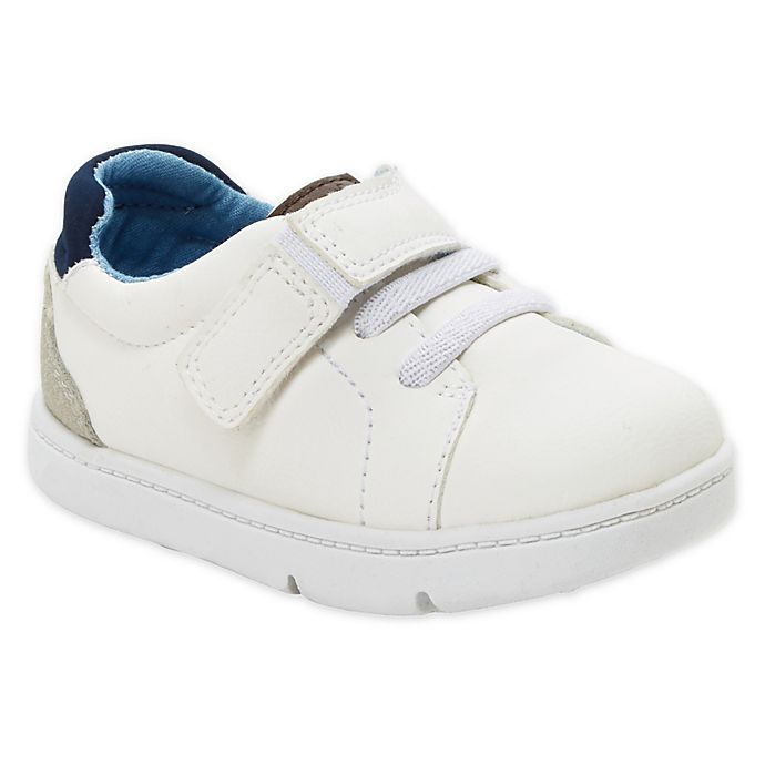 Alternate image 1 for carter's® Every Step Casual Sneaker in White