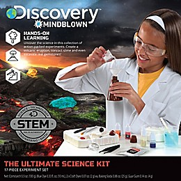 Discovery™ 15-Piece Ultimate Science Experiment Kit