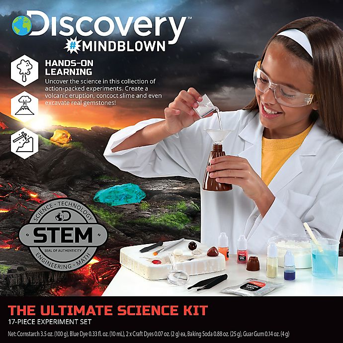 Alternate image 1 for Discovery™ 15-Piece Ultimate Science Experiment Kit