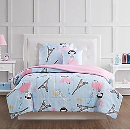 My Wolrd Paris Princess Bedding Set