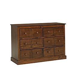 fisher-price® Signature 6-Drawer Double Dresser in Rustic Brown