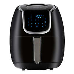 Power XL 5 qt. Vortex Air Fryer in Black