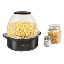 Nostalgia™ Popcorn Maker in Black
