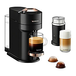 Nespresso® by De'Longhi Vertuo Next Premium Espresso Maker with Aeroccino in Black