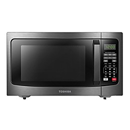 Toshiba® 1.2 cu. ft. Microwave Oven in Black Stainless Steel