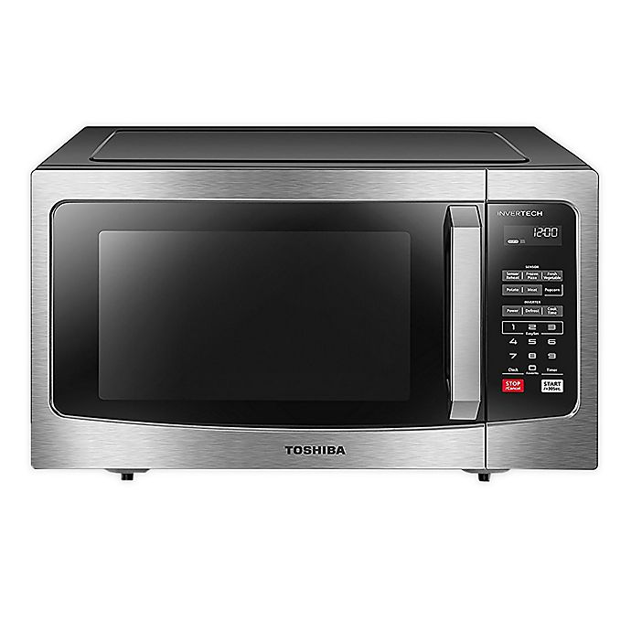 Alternate image 1 for Toshiba 1.6 cu. ft. Microwave Oven with Inverter in Stainless Steel