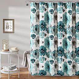 Lush Décor 72-Inch x 72-Inch Leah Shower Curtain