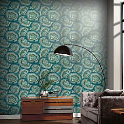 Arthouse Agate Jade Wallpaper in Green/Blue