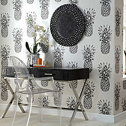 Arthouse Copacabana Wallpaper in Black/Cream