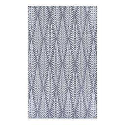 COURISTAN® Le Pleine 7'6 x 10'9 Indoor/Outdoor Area Rug in Grey