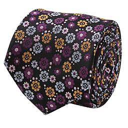Marvel® X-Men Men's Tie in Floral Charcoal