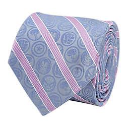 Marvel® Comics Stripe Men's Necktie in Blue/Pink
