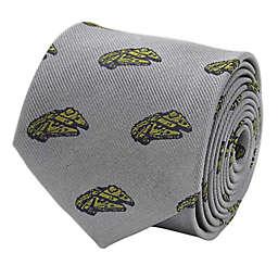 Star Wars™ Millennium Falcon Men's Necktie in Grey