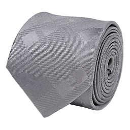 Stark Direwolf Silk Men's Tie in Grey Plaid