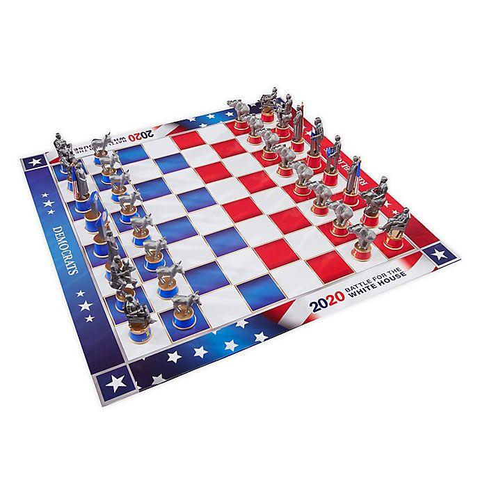 Alternate image 1 for 2020 Battle for the White House Chess Set