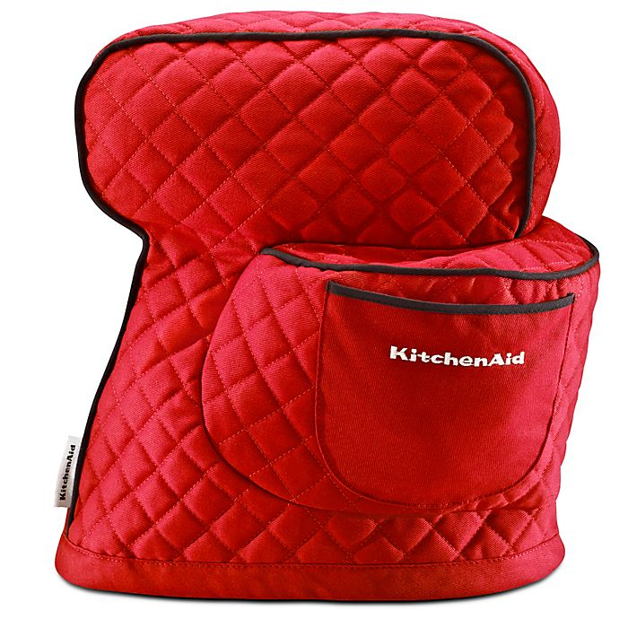 Alternate image 1 for KitchenAid® Fitted Cloth Cover for KitchenAid® Tilt Head Stand Mixers in Empire Red