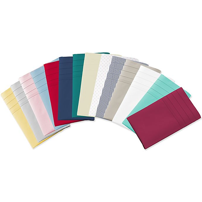 Alternate image 1 for 220-Thread-Count 100% Cotton Sheet Set