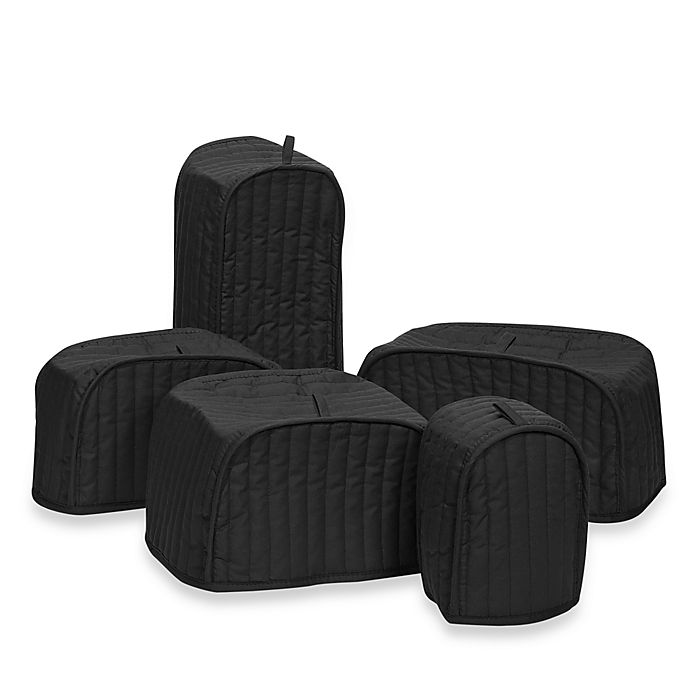 Alternate image 1 for Mydrap Appliance Covers in Black