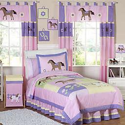 Sweet Jojo Designs Pretty Pony Bedding Collection