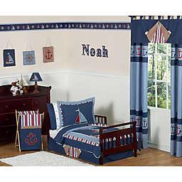 Sweet Jojo Designs Nautical Nights Toddler Bedding Collection