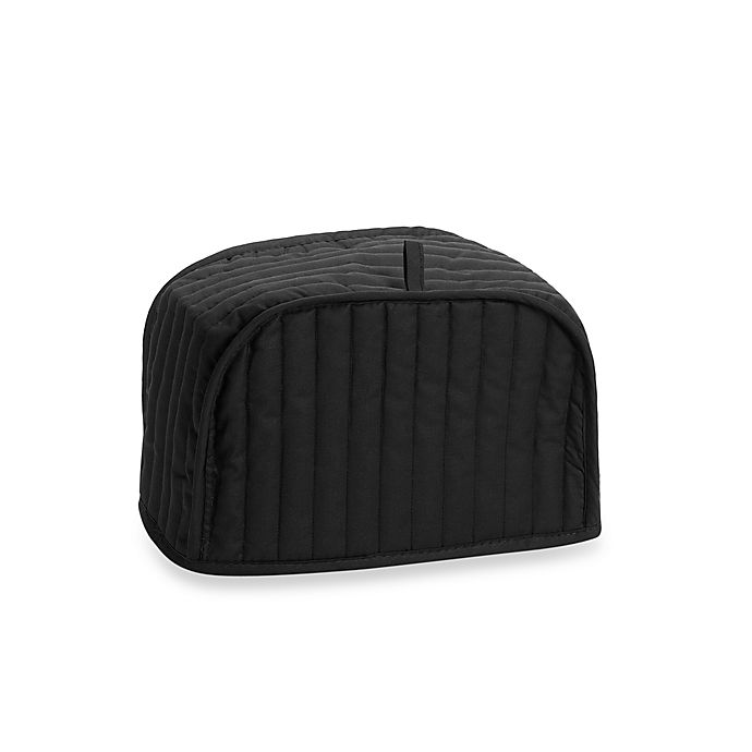 Mydrap Two Slice Toaster Cover In Black Bed Bath Amp Beyond