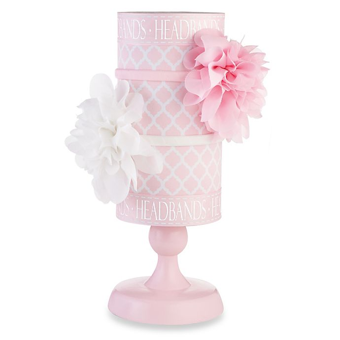 Alternate image 1 for Mud Pie® Headband Holder in Pink