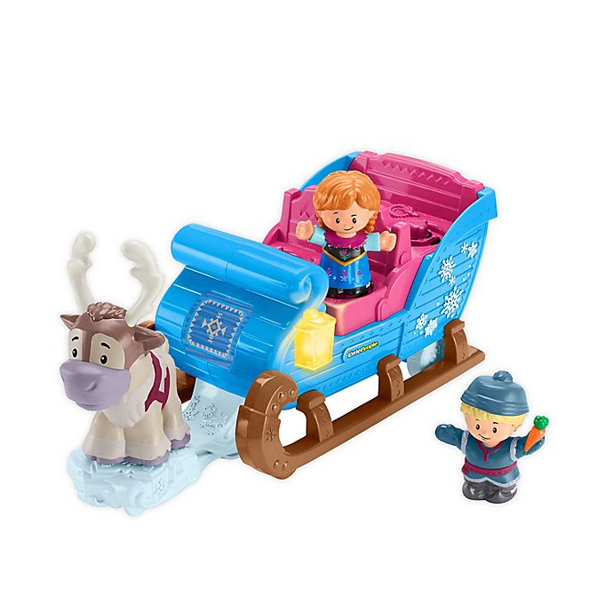 Alternate image 1 for Fisher-Price® Disney® Frozen Kristoff's Sleigh by Little People®