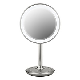 iHome® 9-Inch Vanity Mirror with Bluetooth® Speaker and USB Port in Silver/Nickel