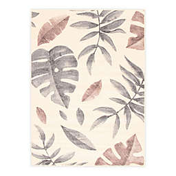 ECARPETGALLERY Presly 7'10 x 10'2 Indoor/Outdoor Area Rug in Cream/Pink