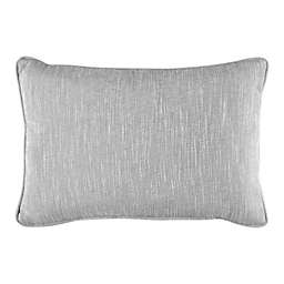Bridge Street Solid Textured Oblong Throw Pillow