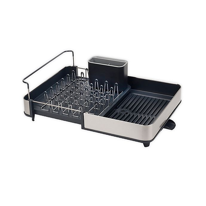 Joseph Joseph Stainless Steel Dish Rack In Grey Bed Bath Beyond
