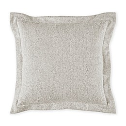 Bridge Street Herringbone Square Throw Pillow in Mist