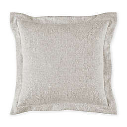 Bridge Street Herringbone Square Throw Pillow in Mist