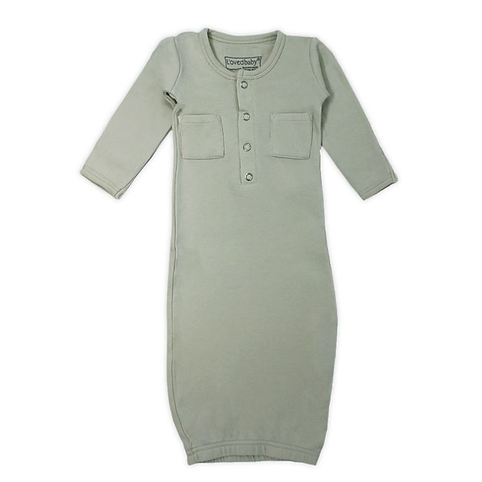 Alternate image 1 for L'ovedbaby® Organic Cotton Gown