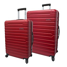Olympia® USA Lancer Hardside Spinner Checked Luggage