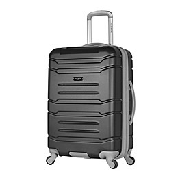 Olympia USA® Denmark Hardside Spinner Checked Luggage in Black