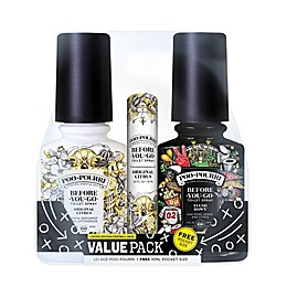 Poo-Pourri® Football Toilet Spray Value Gift Set (Set of 3)