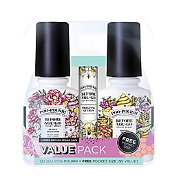 Poo-Pourri® Before-You-Go® Spring 3-Pack Toilet Spray Set
