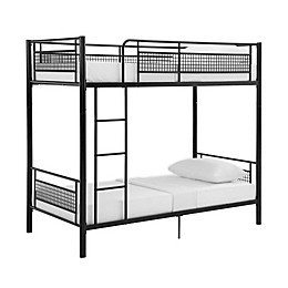 Forest Gate™ Metal Mesh Twin Bunk Bed