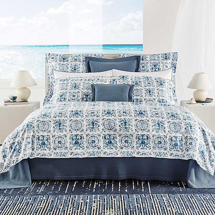 Alternate image 1 for Frette At Home Azulejo Duvet Cover