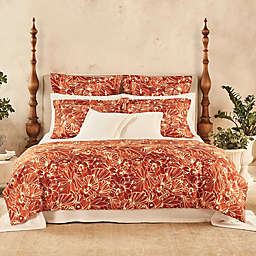 Frette At Home Toscana King Duvet Cover in Pumpkin