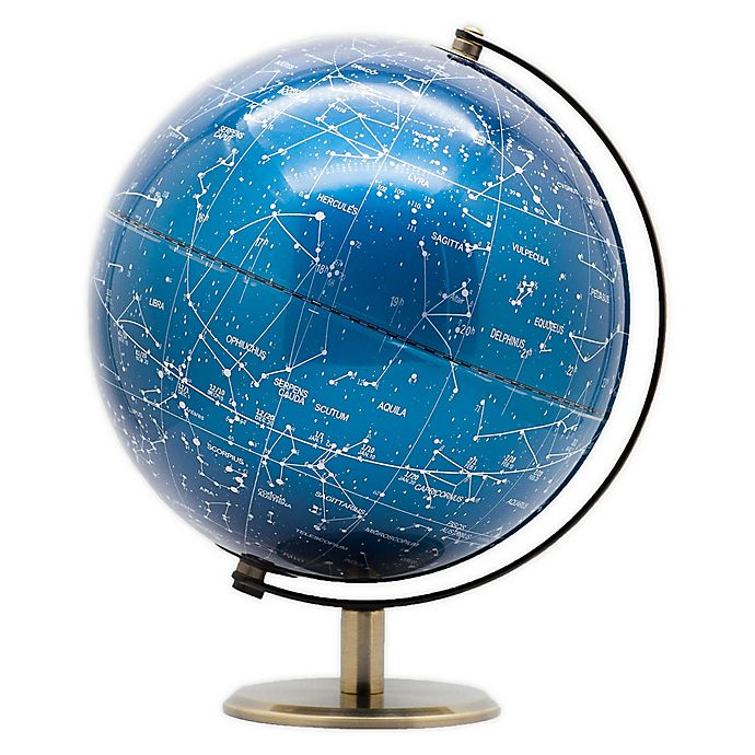 Alternate image 1 for Global Caravan™ LED Globe in Metallic Blue