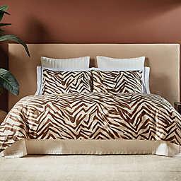 Frette At Home Safari King Duvet Cover in Caramel
