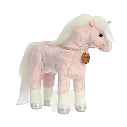 Aurora World® Unicorn Plush Toy with White Hair