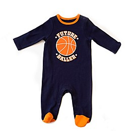 Sterling Baby Basketball Footie in Blue